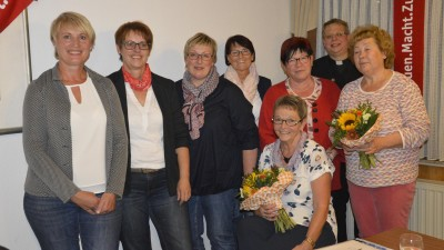 Das Leitungsteam der kfd Oberndorf. Foto: Sinsel
