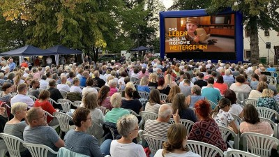 Open-Air-Kino 2019 in Schlüchtern. Foto: Kuki